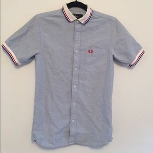 Fred Perry patriotic polo